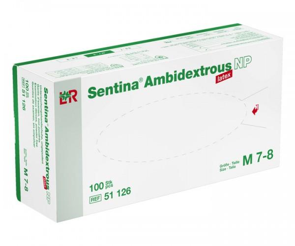 Lohmann & Rauscher Sentina® Ambidextrous Latex-Handschuh, puderfrei