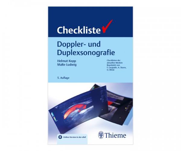 Checkliste Doppler- & Duplexsonografie