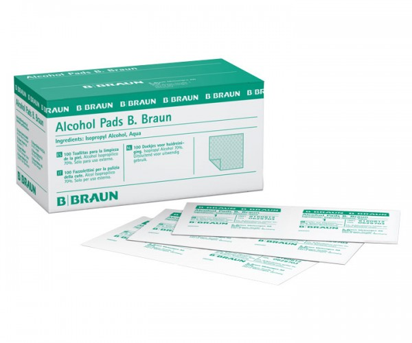 B. Braun Alcohol Pads