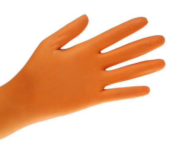 Ampri Style by MED-COMFORT Nitril-Handschuhe orange