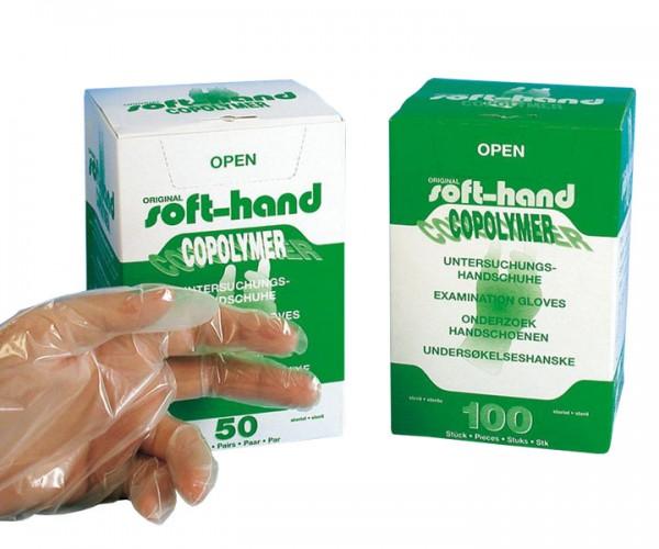 Soft-Hand Copolymer-Handschuh