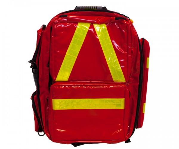 Notfallrucksack Profi Red Plane Vorderansicht