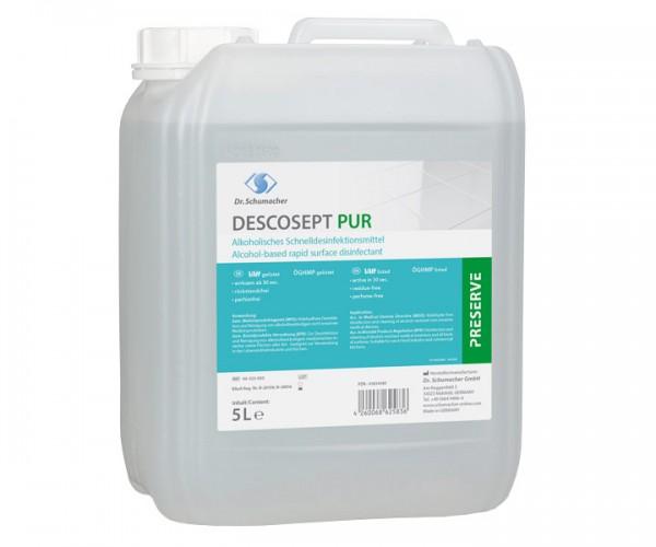 Dr. Schumacher DESCOSEPT PUR 5 Liter Kanister