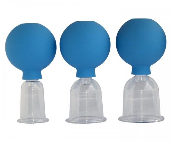 Acryl-Schröpfinstrument mit Ball