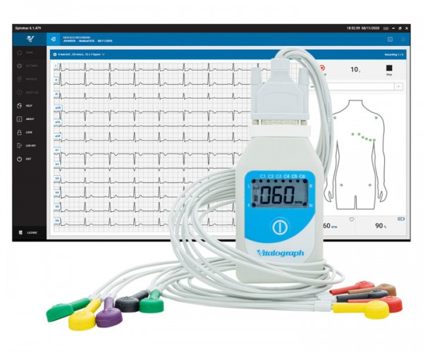 Vitalograph BT12 Ruhe-EKG mit Software