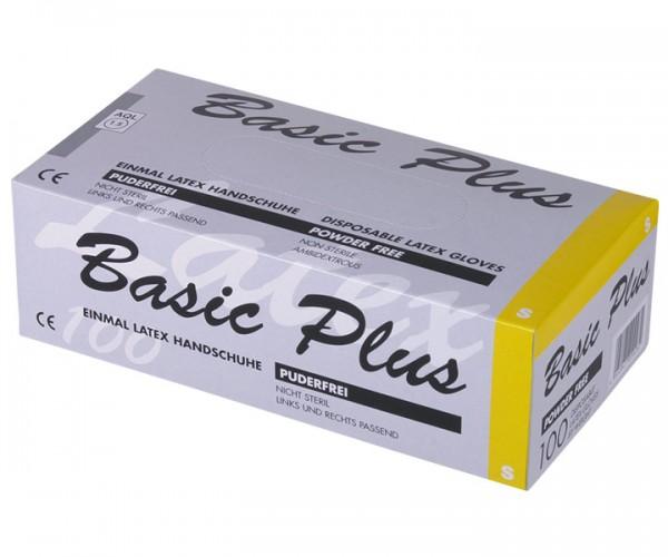 Ampri Basic Plus Latex-Handschuh, puderfrei Größe S