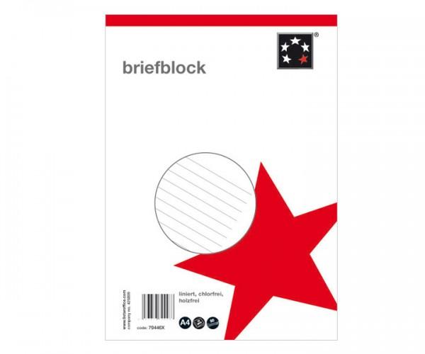 Briefblock