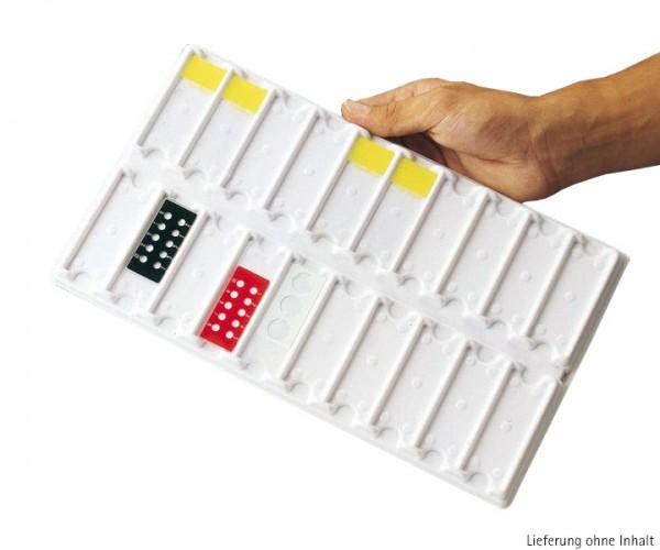 Objektträger-Tablett