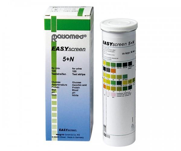 Urinteststreifen easyscreen 5+n