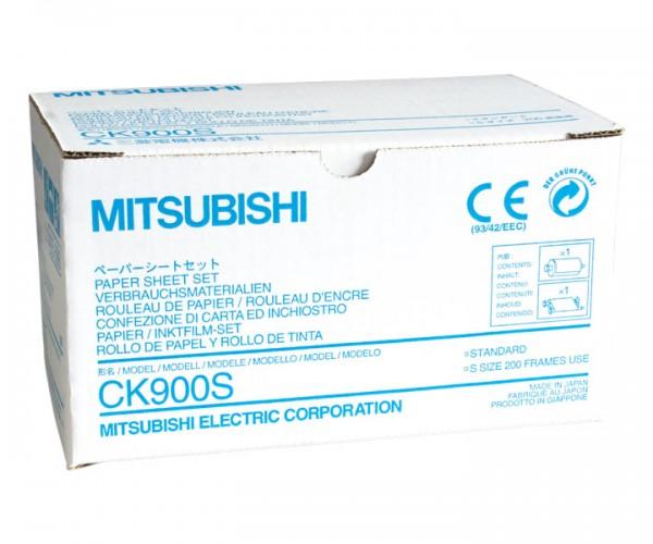 Mitsubishi Farbtraeger mit Kassette S-Format