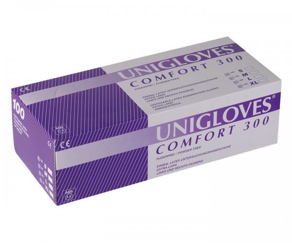 Unigloves COMFORT 300 Latex-Handschuh
