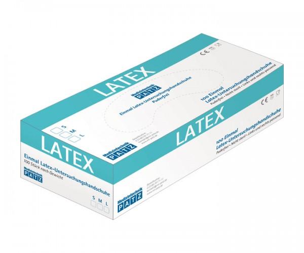 PATZ Latex-Handschuh, puderfrei